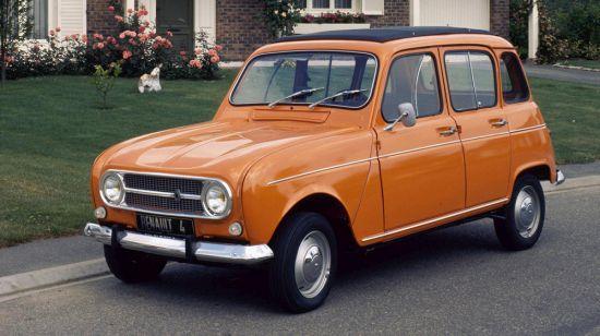 İlk Facelift çalışmasından sonra Renault 4Lnin önden görünüşü