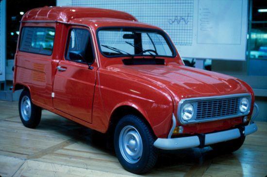 Renault 4 Panelvan modeli