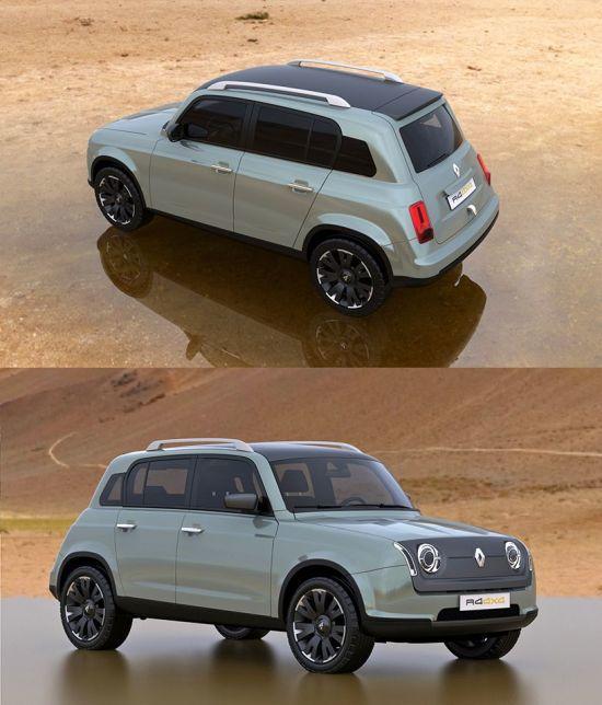 2016da 50. yıl anısına üretine Renault 4