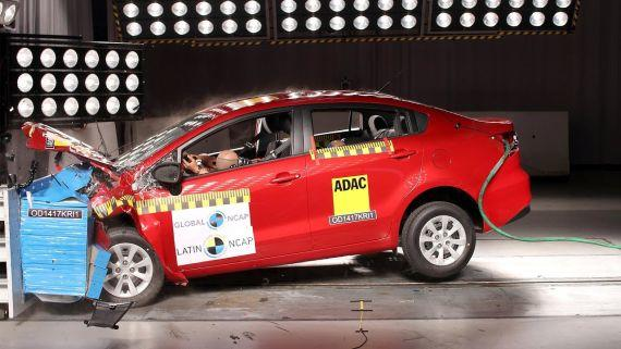 Latin Ncap testlerinde 2016 Kia Rio Sedan