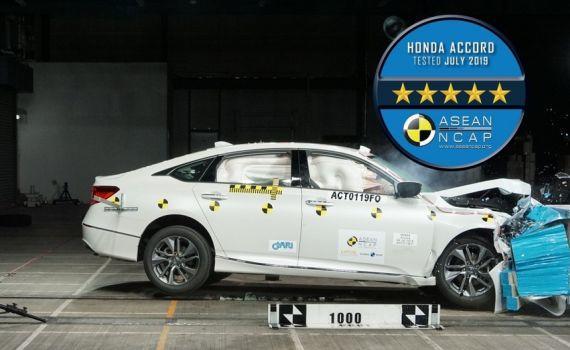 Honcda Accord 2019 Asean Ncap testlerinde