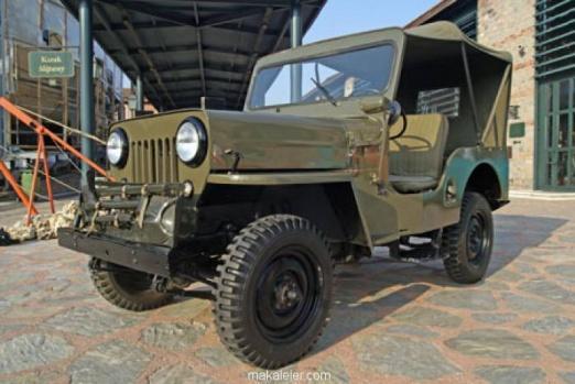 2006 yılında bir gerekçe belirtilmeden kapatılan Tuzla fabrikalarında üretilen Jeep otomobillerden biri
