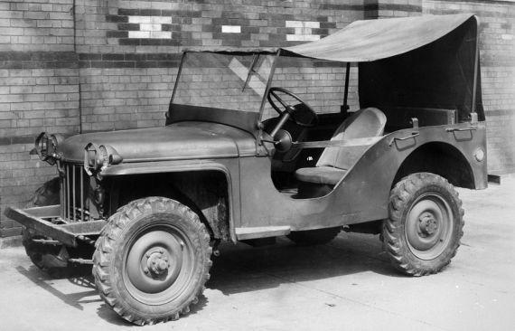 1934 yılında yarışmayı kazanan ilk Jeep prototipi
