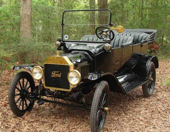 Seri üretim Ford T Convertible modeli