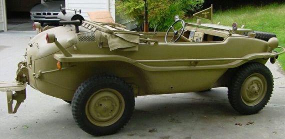 Yüzen otomobil Schimmwagen