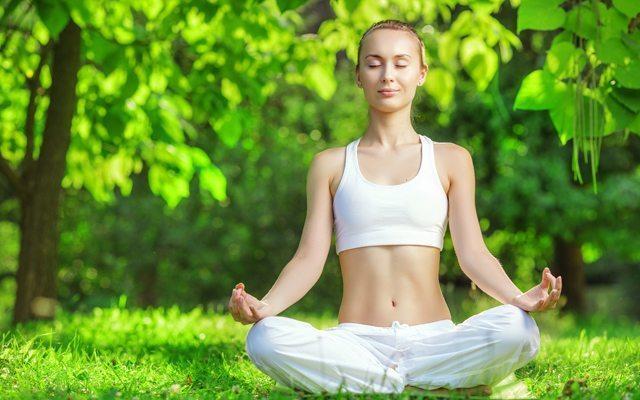 Yoga ve meditasyon işe yarayabilir.