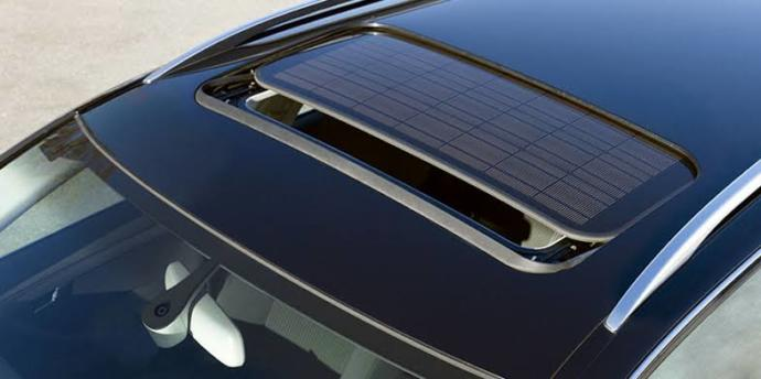 VW Passat solar sunroof uygulaması