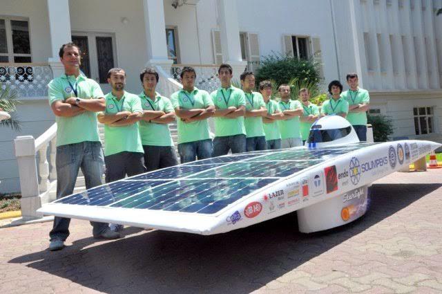 Ege Üniversitesinin yaptığı solar araba