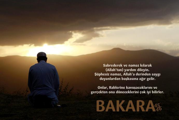 İslam dininin direği: NAMAZ!