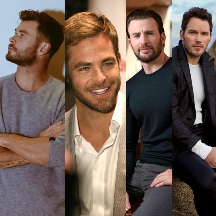 4 Ünlü Chris Arasından En Çok Hangisini Seviyorsun?