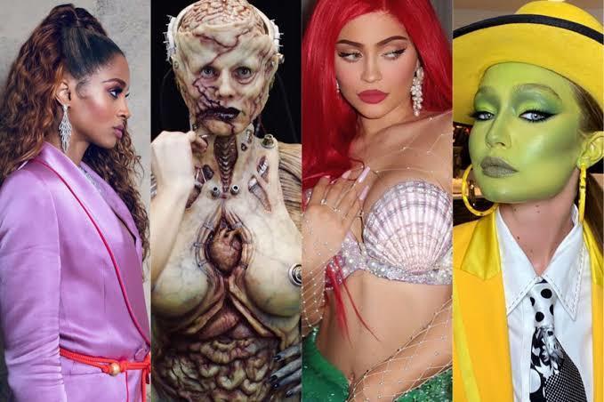 Instagram Alev Aldı! Ünlülerin 2020 Hallowen Kostümlerini Mutlaka Görmelisiniz!