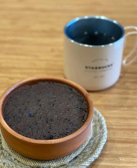 Bir fincan kahve ile harika bir uyum