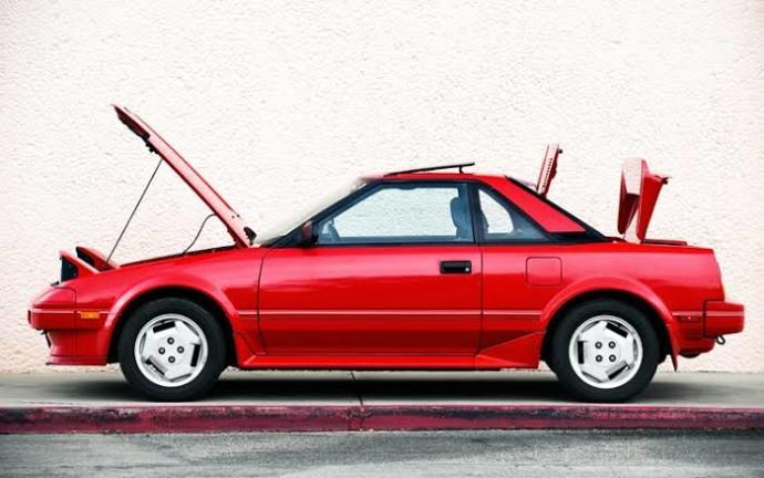 Mini Spor Otomobil: Toyota MR2 W10!