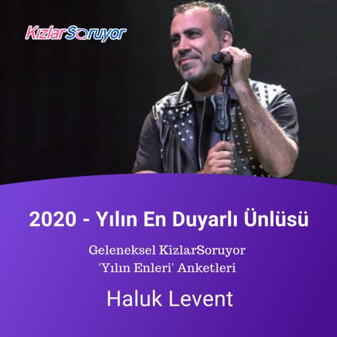 Yılın en duyarlı ünlüsü : Haluk Levent