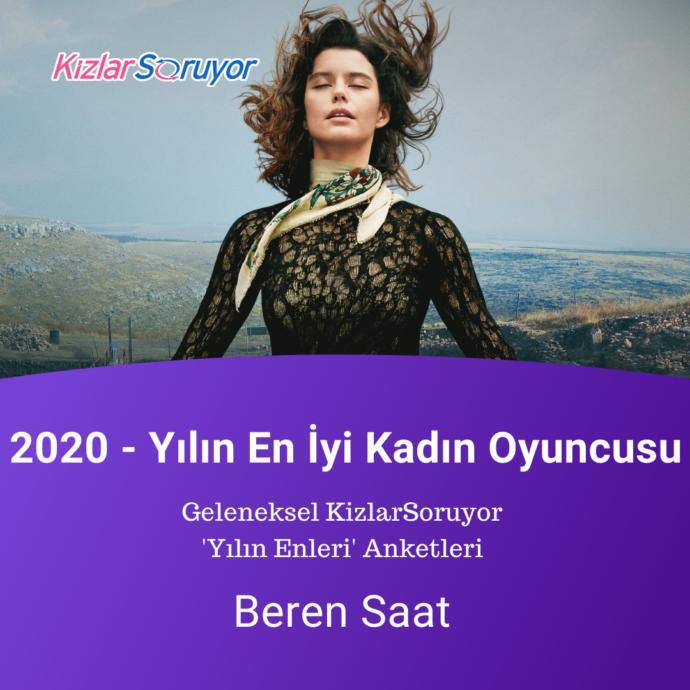 Yılın en iyi kadın oyuncusu : Beren Saat (Atiye)