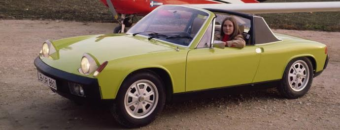 Porsche'nin En Çirkin Arabası: 914 Targa!