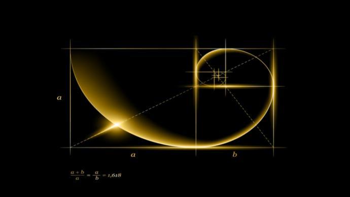 Altın Oran, irrasyonel bir sayıdır ve yazılışı; 1,618033988749894... şeklindedir