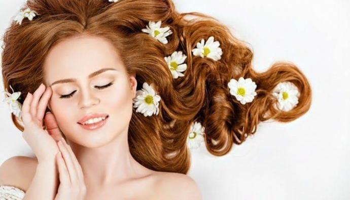 Saçlarınız yeniden canlansın 🍃