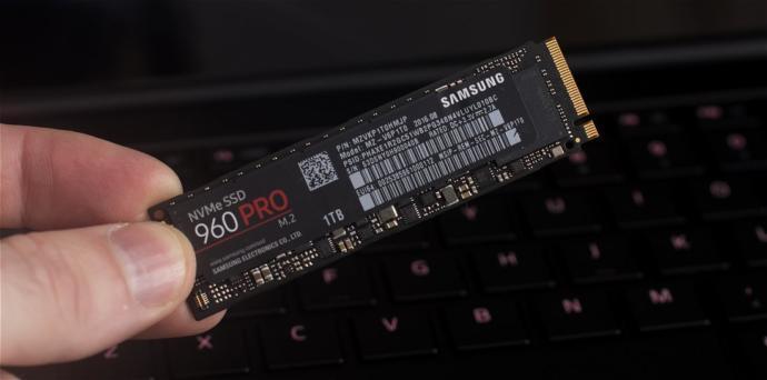 Bir M.2 SSDnin uzunluğu işaret parmağı kadardır.