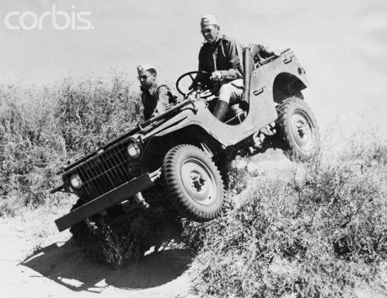 Ford Pygmy Arazi Testlerinde