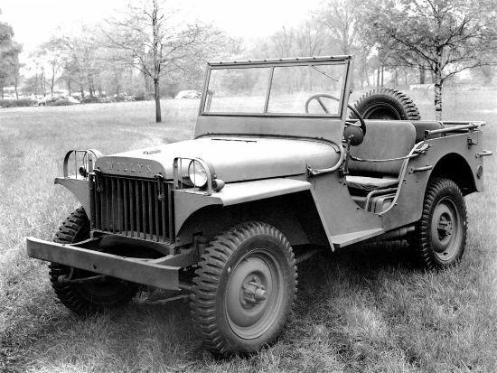 1940 Jeep Willys MA askeri aracı