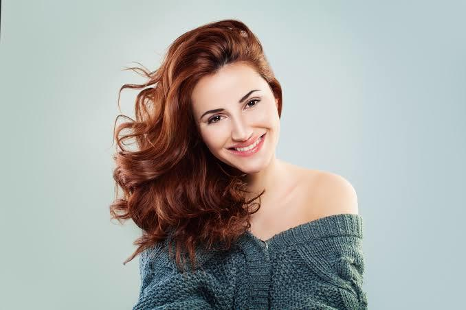 Kızıl saç boyası yapımı