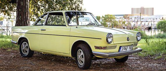 BMW 700 coupe modeli