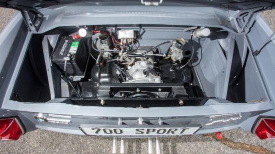 Rallilerde kullanılan BMW 700 motoru