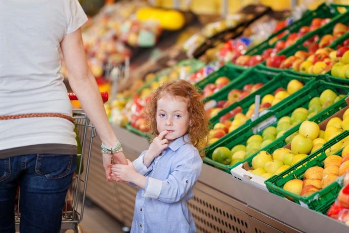 Çocuklu alışveriş