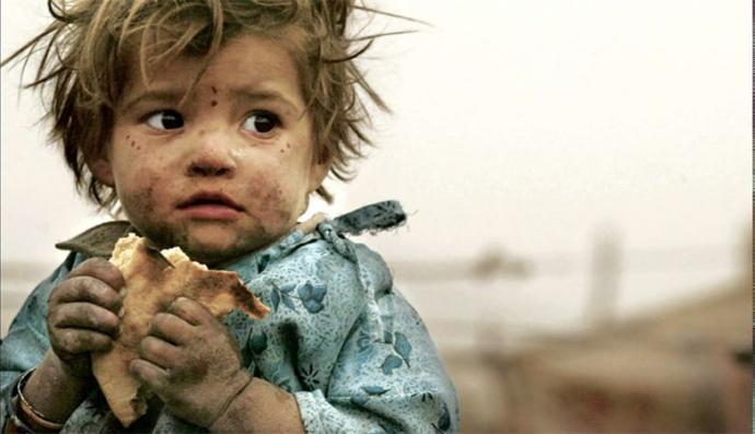 Savaş, Çocuk ve Açlık