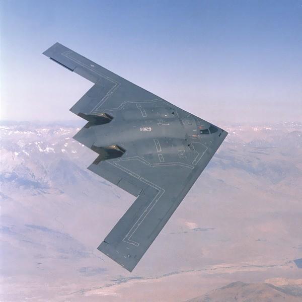 B-2 Siprit Stealth Tasarım(UCAV Değil !)