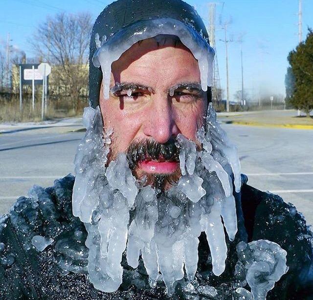 Hava buz gibi dışarda