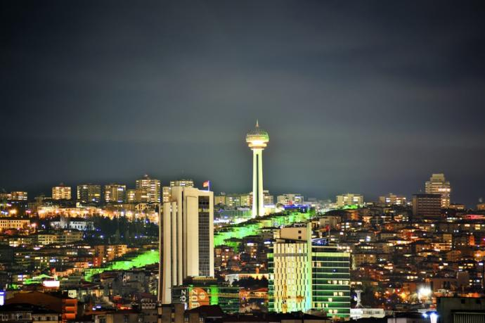 Ankara ve gece