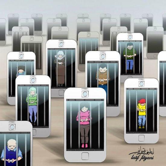 Güncel kültür insanları teknoloji bağımlısı hatta esiri yapmıştır