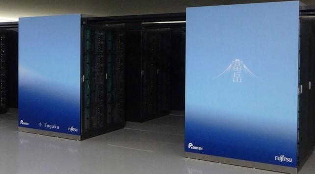 Fugaku Süper bilgisayar.
