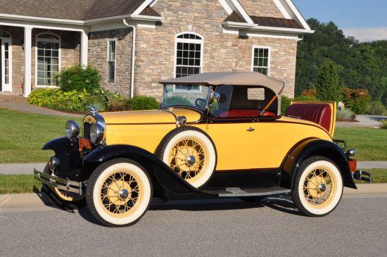Ford A soft top Coupe