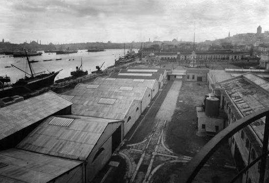 Fabrika binalarının genel görünümü