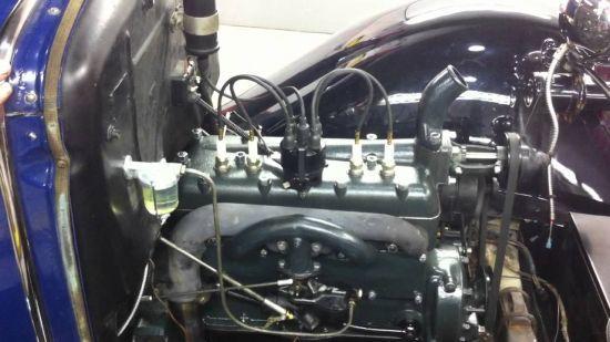 Avrupada kullanılan 2 litrelik 4 silindirli motor