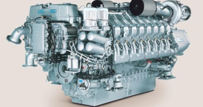 MTU Dizel Motor
