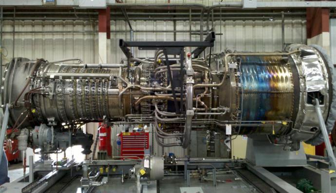 GE LM2500 Gaz Türbin Motor