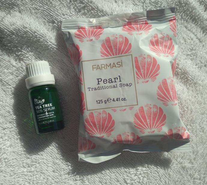 Pearl Traditional Soap ve Çay Ağacı Sos Serumu