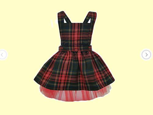 Kız Bebekler İçin 100 TL Altı En Güzel Prenses Elbise Örnekleri