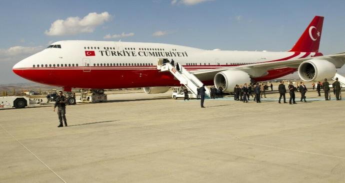 TC-TRK Boeing 747-8 Intercontinental