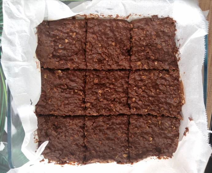 Unsuz, Yağsız, Şekersiz Protein Deposu Pişmeyen Fit Brownie 🤞