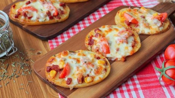 Sahurda Tüketebileceğiniz Nefis Patates Pizza