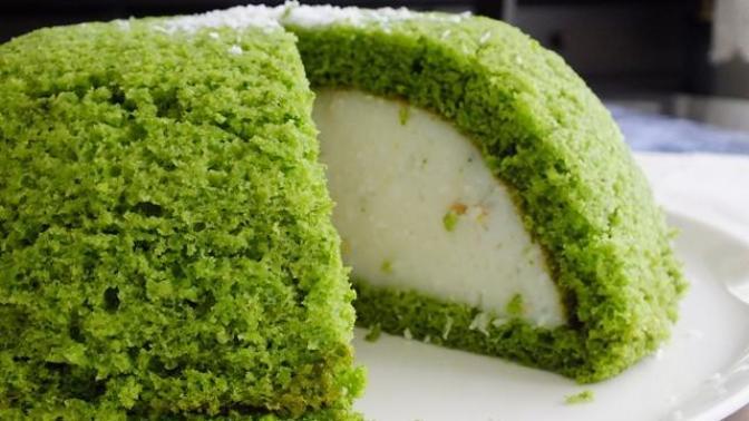 Yeşil Uzaylı Pastası Yaptım. Bu Tarifi Öğrenmelisiniz, Çocuklarınız Çok Sevecek