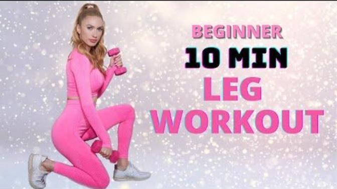 10 dakikada İnce, Sıkı ve Güçlü Bacaklar!