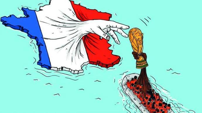 Afrikadan Çalınan Takım: Fransa Milli Takımı!