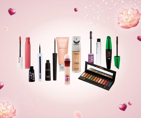 Hep en güzel haliyle görünmek isteyen annen için L'Oréal Paris, Maybelline, Golden Rose, Note, New Well markalı makyaj malzemelerini 12 Mayıs'a kadar indirimli al!