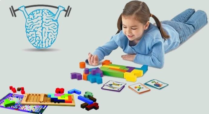 Beyni çalıştırmak, çocuğun zihinsel gelişiminin en önemli parçasıdır.
